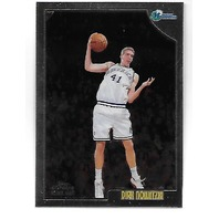 DIRK NOWITZKI 1998-99 Topps Chrome Rookie RC #154 Dallas Mavericks