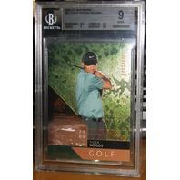 TIGER WOODS 2003 Upper Deck SP Authentic Card Lot Graded Beckett 9 8.5 8 #'d