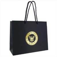 Vanguard GIFT BAG: NAVY BLUE WITH GOLD USN EMBLEM