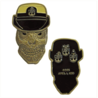 Vanguard COIN: UNITED STATES NAVY FEMALE SENIOR CHIEF PETTY OFFICER SKULL
