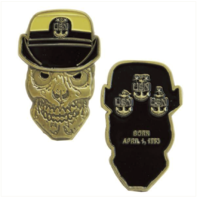 Vanguard COIN: UNITED STATES NAVY FEMALE MASTER CHIEF PETTY OFFICER SKULL