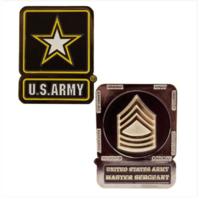 Vanguard ARMY COIN: MASTER SERGEANT