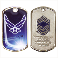 Vanguard AIR FORCE COIN: CHIEF MASTER SERGEANT