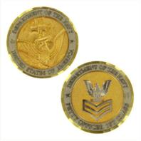 Vanguard NAVY COIN: E6 PETTY OFFICER FIRST CLASS