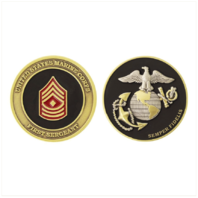 Vanguard MARINE CORPS COIN: FIRST SERGEANT 1.75""
