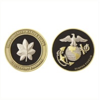 Vanguard MARINE CORPS COIN: LIEUTENANT COLONEL 1.75""