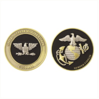 Vanguard MARINE CORPS COIN: COLONEL 1.75""