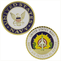 Vanguard NAVY COIN: UNITED STATES NAVY NAVAL AIR FACILITY EL CENTRO