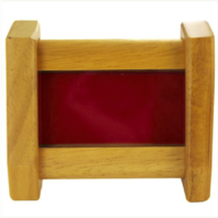 Vanguard OAK DESKTOP COIN HOLDER (2 – RED)