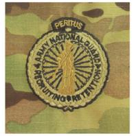 Vanguard ARMY IDENTIFICATION OCP MASTER ARMY NAT'L GUARD RECRUITING & RETENTION