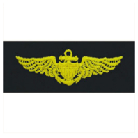 Vanguard NAVY EMBROIDERED BADGE: AVIATOR - EMBROIDERED ON COVERALL