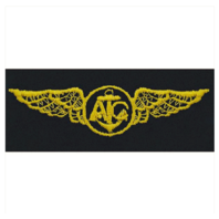 Vanguard NAVY EMBROIDERED BADGE: AIR CREW - EMBROIDERED ON COVERALL