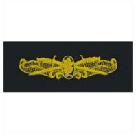 Vanguard NAVY EMBROIDERED BADGE: SURFACE WARFARE DENTAL - COVERALL