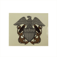 Vanguard NAVY CONSTRUCTION HAT DECAL: OFFICER