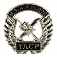 Vanguard AIR FORCE BERET BADGE: TACTICAL AIR CONTROL PARTY: TACP