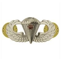 Vanguard ARMY BADGE: COMBAT PARACHUTE FIRST AWARD - MIRROR FINISH