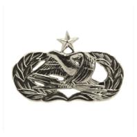 Vanguard AIR FORCE BADGE: GROUND RADAR AIRFIELD SYSTEMS SENIOR Regulation Mirror