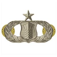 Vanguard AIR FORCE BADGE: AIR TRAFFIC CONTROL: SENIOR - MIDSIZE