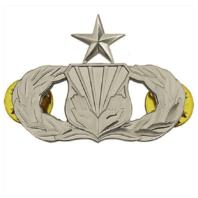 Vanguard AIR FORCE BADGE: CHAPLAIN ASSISTANT: SENIOR - MIDSIZE