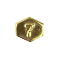 Vanguard ARMY IDENTIFICATION BADGE ATTACHMENT: DIRECTOR 7 - GOLD MIRROR FINISH