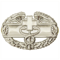 Vanguard ARMY BADGE: COMBAT MEDICAL FIRST AWARD - MIRROR FINISH