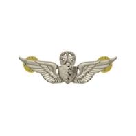 Vanguard ARMY DRESS BADGE: MASTER FLIGHT SURGEON - MINIATURE, MIRROR FINISH