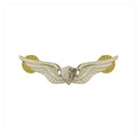 Vanguard ARMY DRESS BADGE: AIRCRAFT CREWMAN: AIRCREW - MINIATURE, MIRROR FINISH