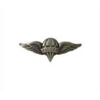 Vanguard ARMY DRESS BADGE: PARACHUTE RIGGER - MINIATURE, SILVER OXIDIZED