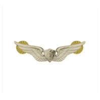 Vanguard ARMY BADGE: AIRCRAFT CREWMAN: AIRCREW - MINIATURE, MIRROR FINISH