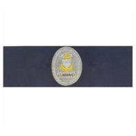 Vanguard COAST GUARD BADGE: ENLISTED ADVISOR E9 COMMAND: RIPSTOP FABRIC