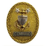 Vanguard COAST GUARD BADGE: ENLISTED ADVISOR E9 COMMAND SENIOR - REGULATION SIZE