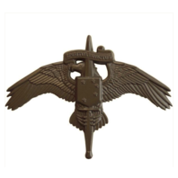 Vanguard MARINE CORP BADGE MARSOC SUBDUED METAL MARINE FORCES SPECIAL OP COMMAND