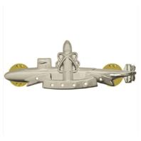 Vanguard NAVY BADGE SSBN SUBMARINE DETERRENT PATROL REGULATION SIZE-MIRROR