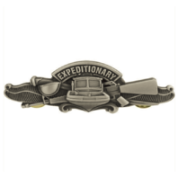 Vanguard NAVY BADGE: EXPEDITIONARY WARFARE SPECIALIST ENLISTED - REGULATION SIZE
