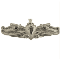 Vanguard NAVY BADGE: SURFACE WARFARE ENLISTED - REGULATION SIZE, MIRROR FINISH