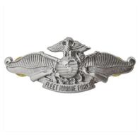 Vanguard Regulation Size Enlisted Navy Fleet Marine Force Badge- Mirror finish