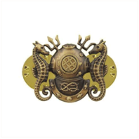Vanguard BADGE: DIVING OFFICER - MINIATURE, OXIDIZED
