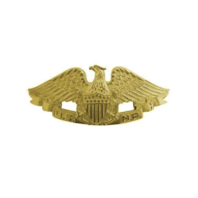 Vanguard NAVY BADGE: NAVAL RESERVE - MINIATURE, MIRROR FINISH
