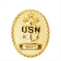Vanguard NAVY BADGE ENLISTED ADVISOR MATER CHIEF PETTY OFFICER OF THE NAVY MINI