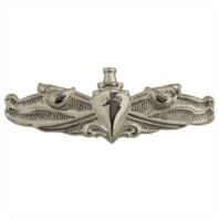 Vanguard NAVY BADGE: SURFACE WARFARE ENLISTED - MINIATURE, MIRROR FINISH