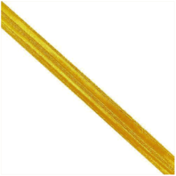 "Vanguard SYNTHETIC LACE: GOLD - 3/8"" INCH"