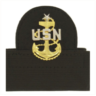 Vanguard NAVY CAP DEVICE: E8 CHIEF PETTY OFFICER: SENIOR - MOUNTED