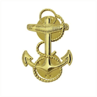 Vanguard NAVY CAP DEVICE: MIDSHIPMAN - MINIATURE SIZE