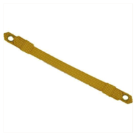 Vanguard ARMY CAP STRAP: OFFICER - GOLD WIRE, ½ INCH