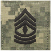 Vanguard ARMY EMBROIDERED ACU RANK INSIGNIA: FIRST SERGEANT