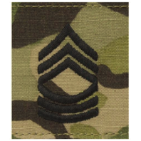 Vanguard ARMY GORTEX RANK: MASTER SERGEANT - OCP JACKET TAB
