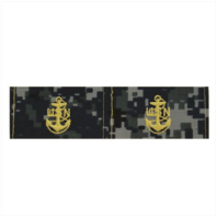 Vanguard NAVY EMBROIDERED COLLAR DEVICE: E7 CPO - TYPE I BLUE DIGITAL