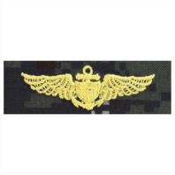 Vanguard NAVY EMBROIDERED BADGE: AVIATOR - TYPE I BLUE DIGITAL