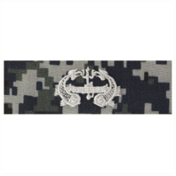 Vanguard NAVY EMBROIDERED BADGE: DEEP SUBMERGENCE ENLISTED - TYPE I BLUE DIGITAL