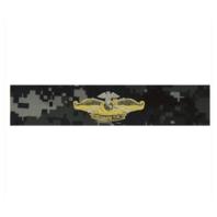 Vanguard NAVY EMBROIDERED BADGE: FLEET MARINE FORCE OFFICER TYPE I BLUE DIGITAL